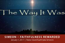 Simeon—Faithfulness Rewarded