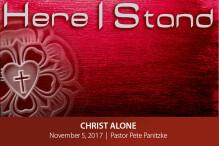 Christ Alone - The Bridge