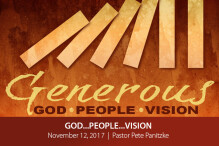 God…People…Vision - Part I - The Bridge