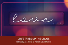 Love Takes Up The Cross