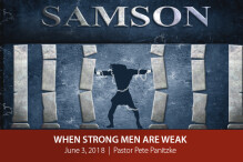 When Strong Men Are Weak