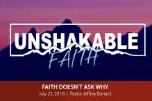 Faith Doesn't Ask Why - The Bridge
