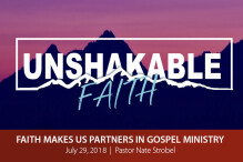 Faith Makes Us Partners in Gospel Ministry - The Bridge