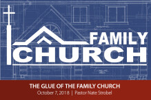 The Glue of the Family Church