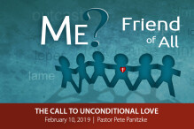 The Call to Unconditional Love