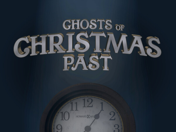 Series: The Christ Child Silences The Ghosts of Christmas Past