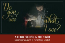 A Child Fleeing in the Night Suffers to Make All Things Right