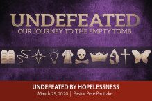 Undefeated by Hopelessness - The Bridge