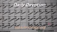 St. Paul's Devotions - June 29th