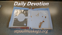 St. Paul's Devotions - August 31st