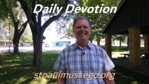 St. Paul's Devotions - September 2nd